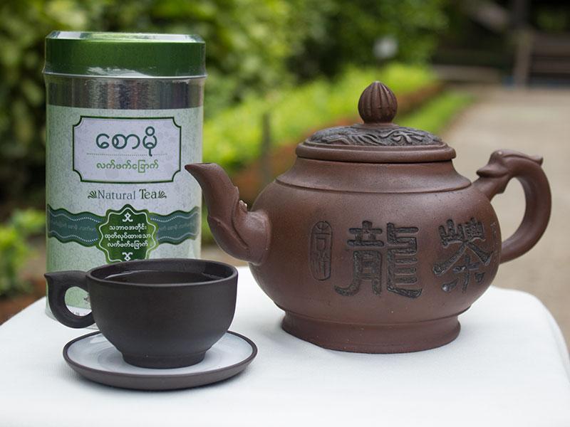 Saw Mo Pickled Tea Leaves, Myanmar Tea Leaves
